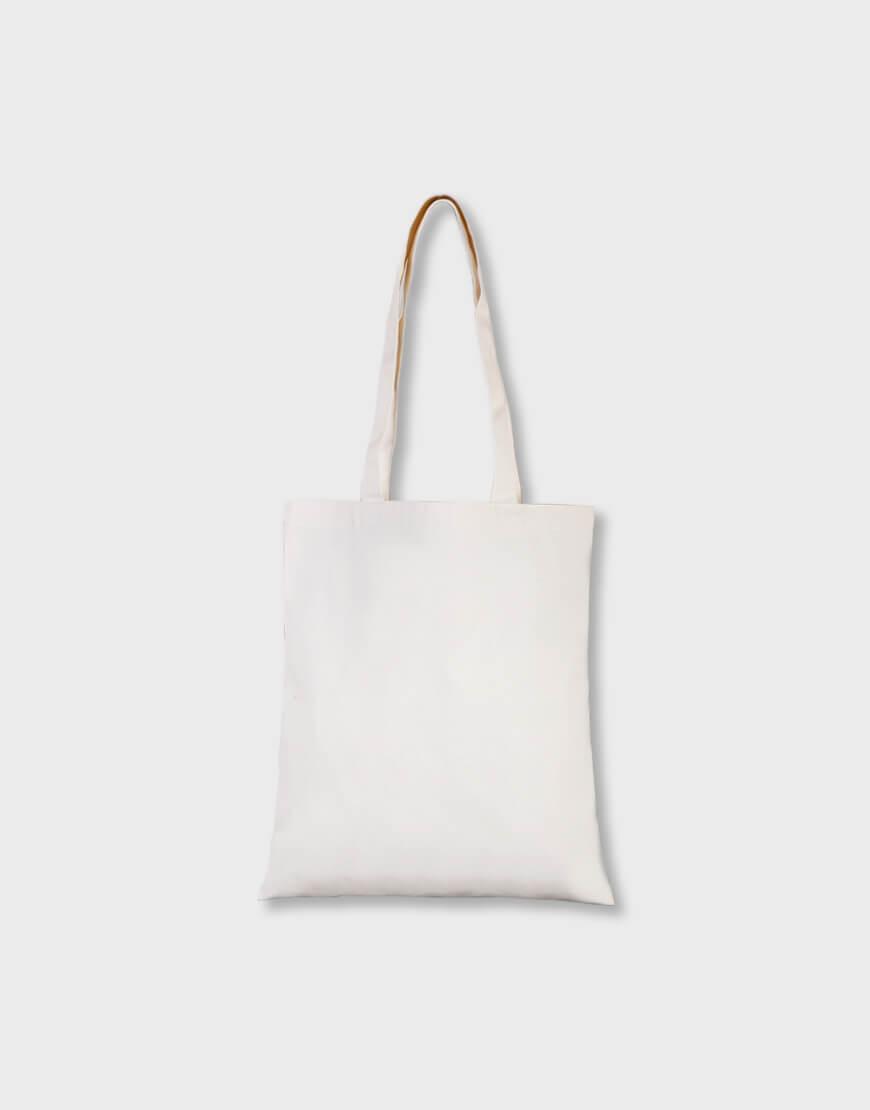 輕帆布單層肩背包 - 淺漿