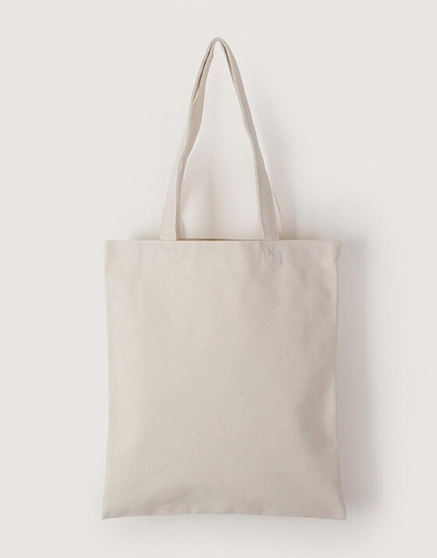 中帆布單層直式袋