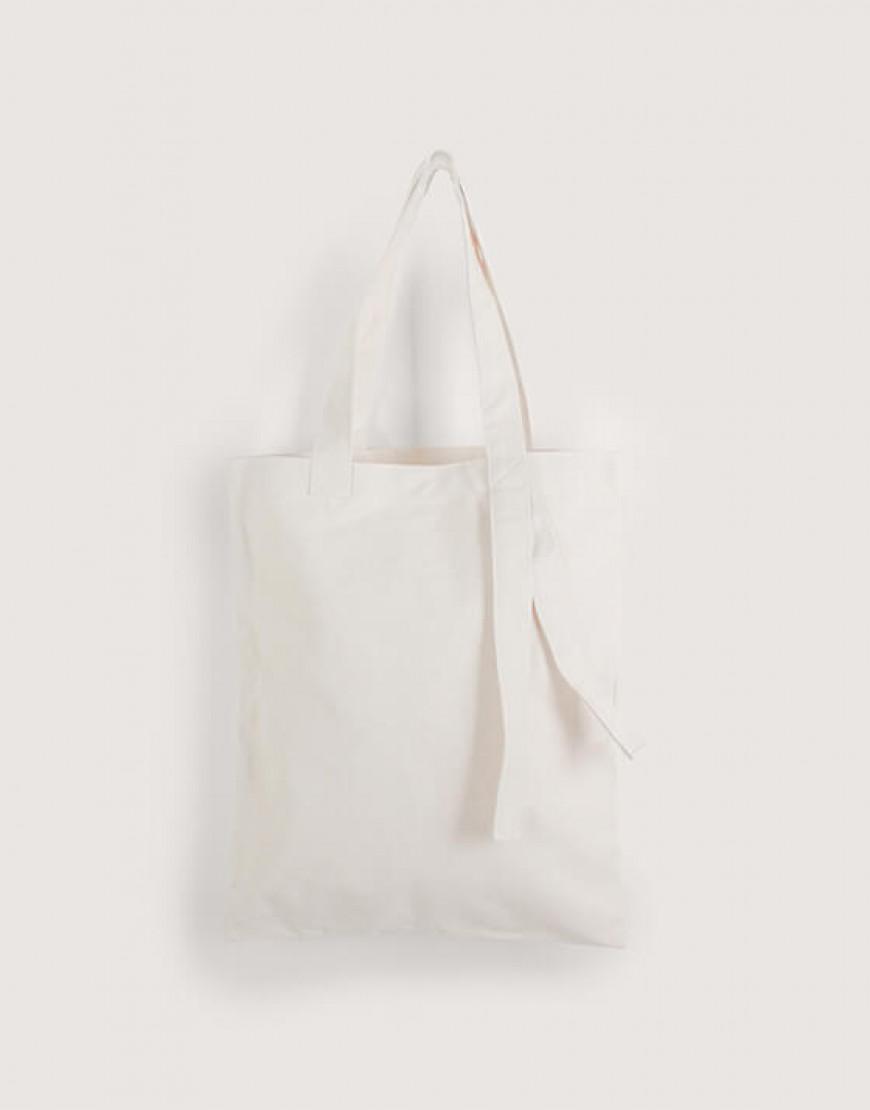 中帆布單層提帶外露直式袋
