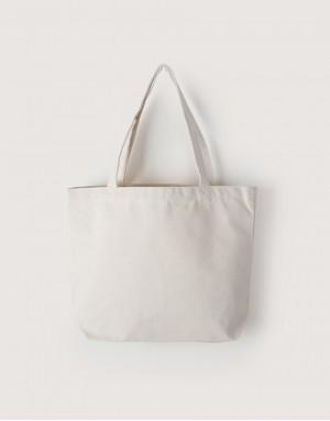 中帆布雙層橫式袋  I 銅扣款 I