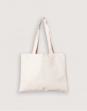 8安輕帆布單層淺漿橫式袋