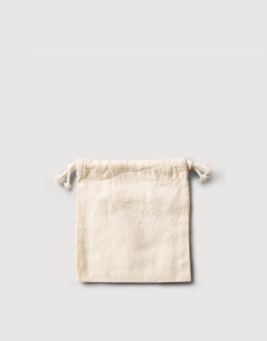 棉布束口收納袋 - 小