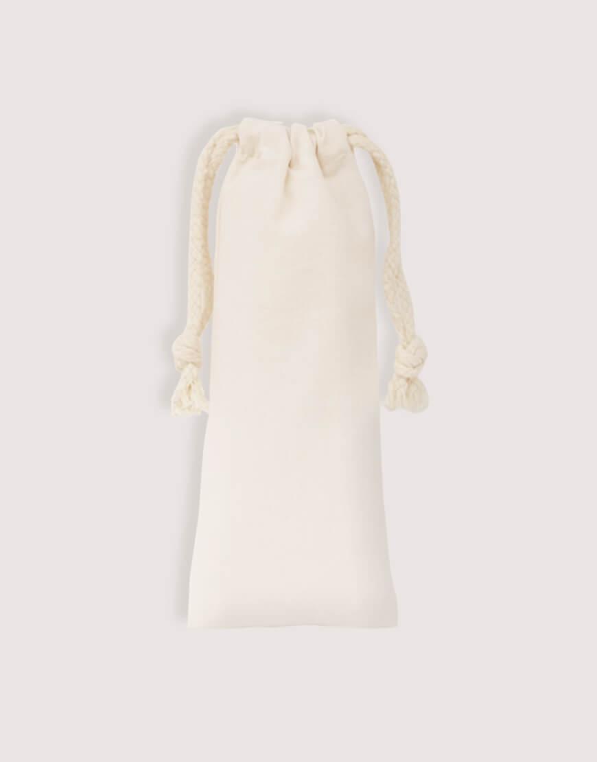 棉布束口袋 - 7x20cm
