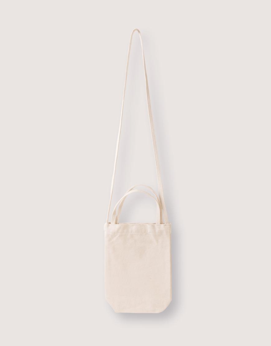 厚帆布斜背兩用有底水壺袋