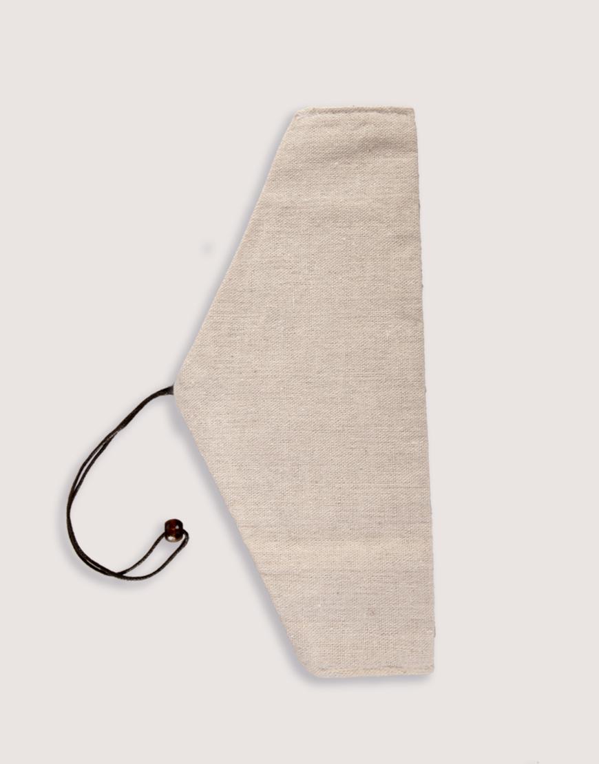 三角棉麻筷袋