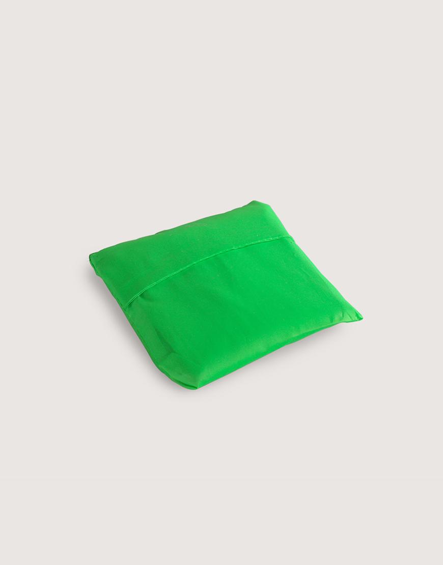 尼龍布190D折疊購物袋 - 綠