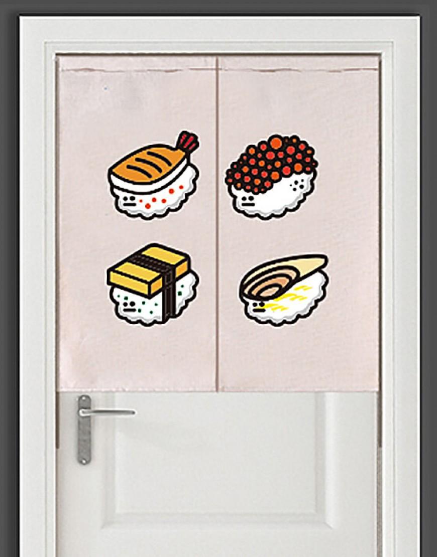 |預購款| 壽司布簾 - おすし03