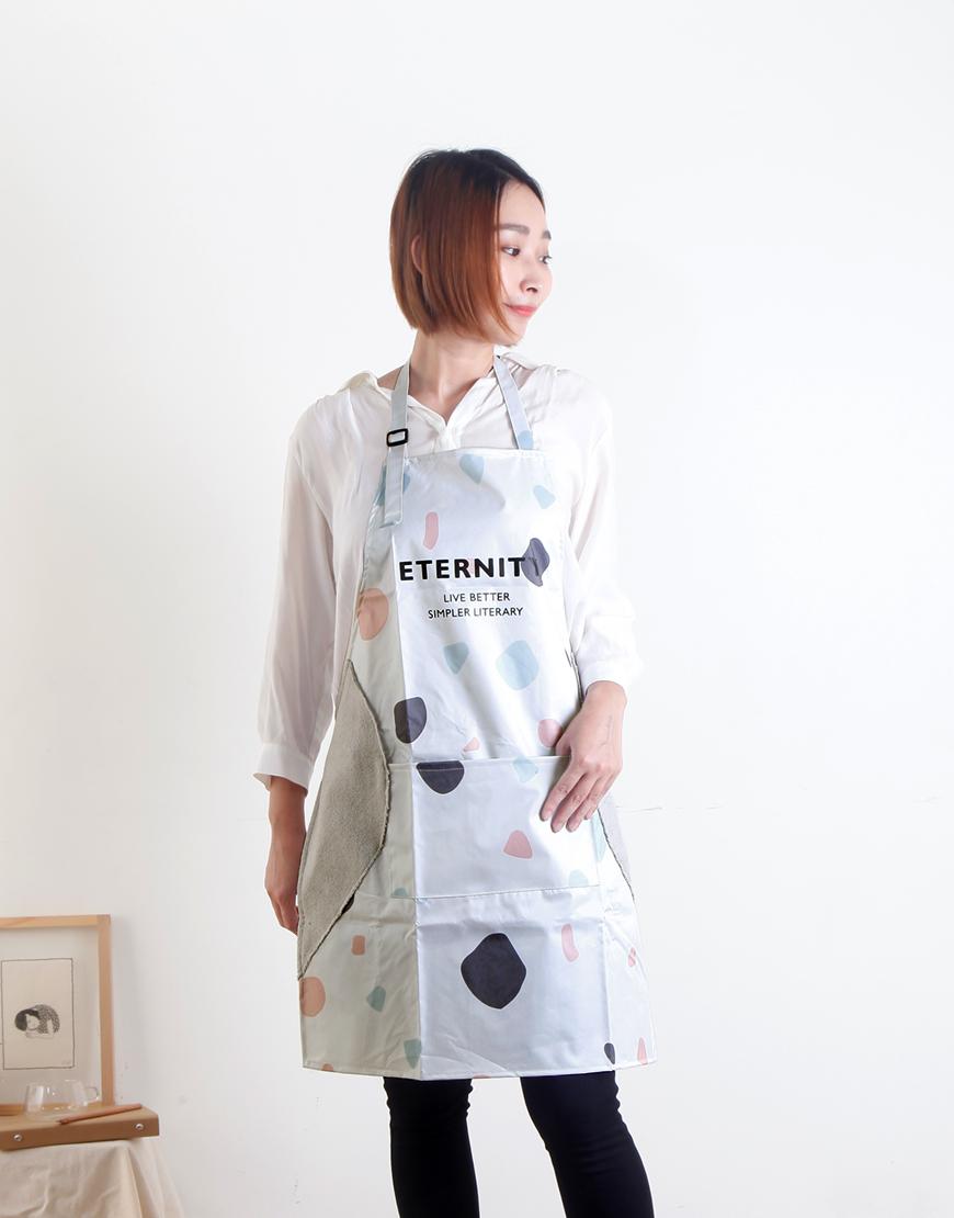 PVC防水印字款圍裙 - 2色