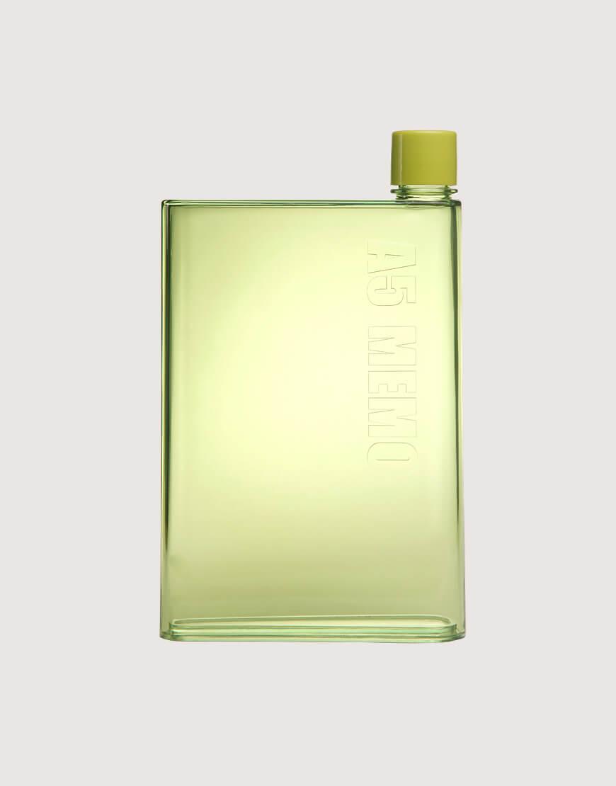 便攜隨行A5紙張水瓶 - 420ml - 6色 I 透明系列 I
