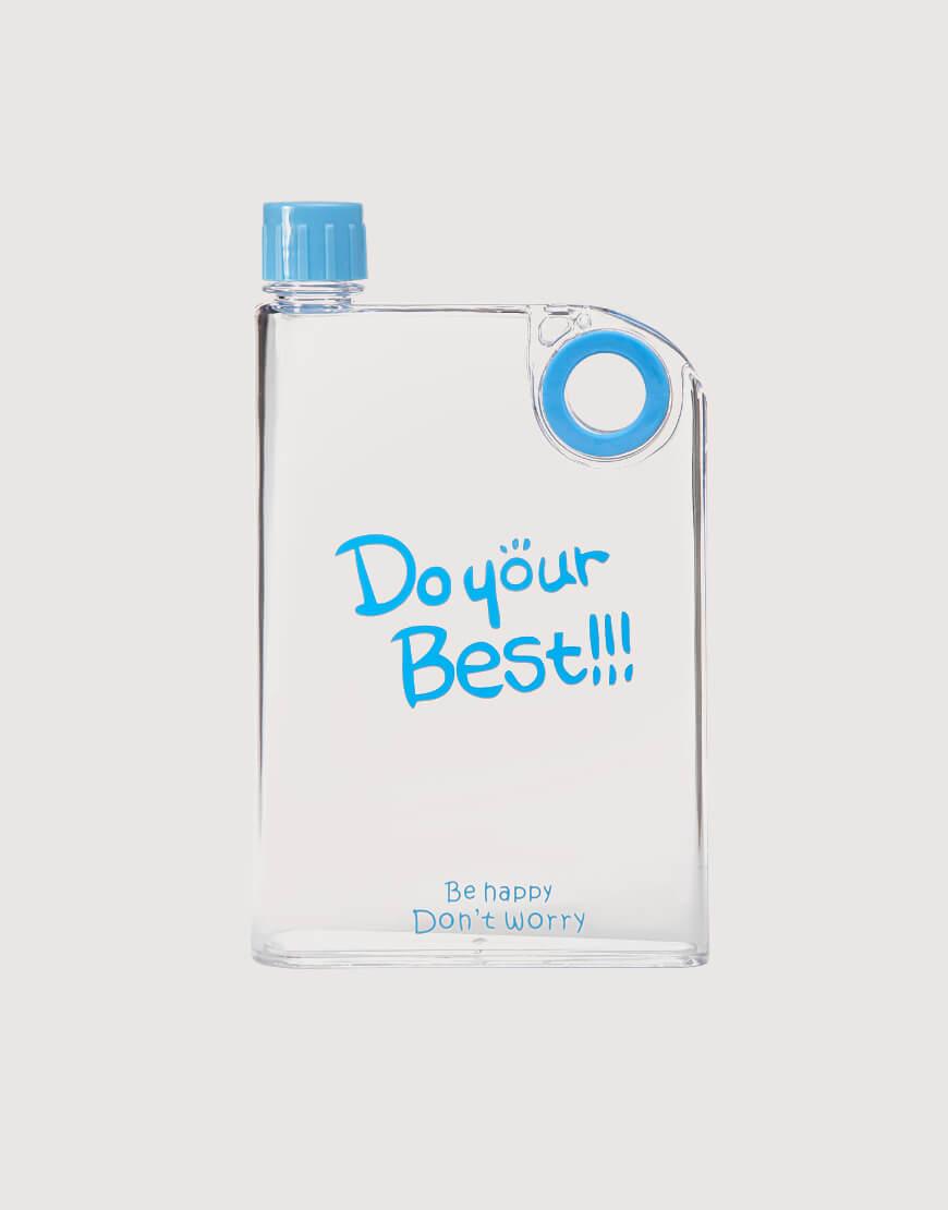 隨手杯  A5紙張指環水瓶  380ml  透明系列