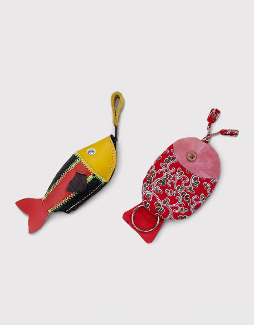 小魚鑰匙包