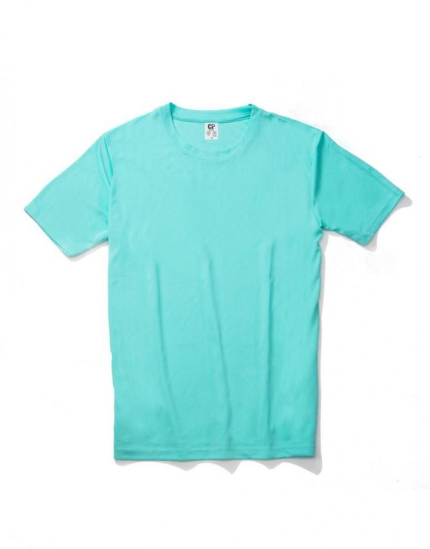 涼感吸濕排汗圓領運動休閒T恤 - 40色 I 5件起訂 I