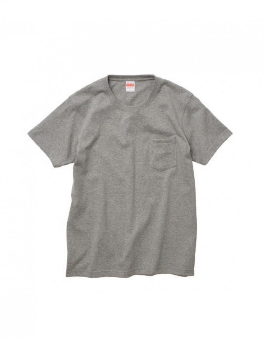 I 日本品牌 I 頂級重磅口袋T恤 - 4色