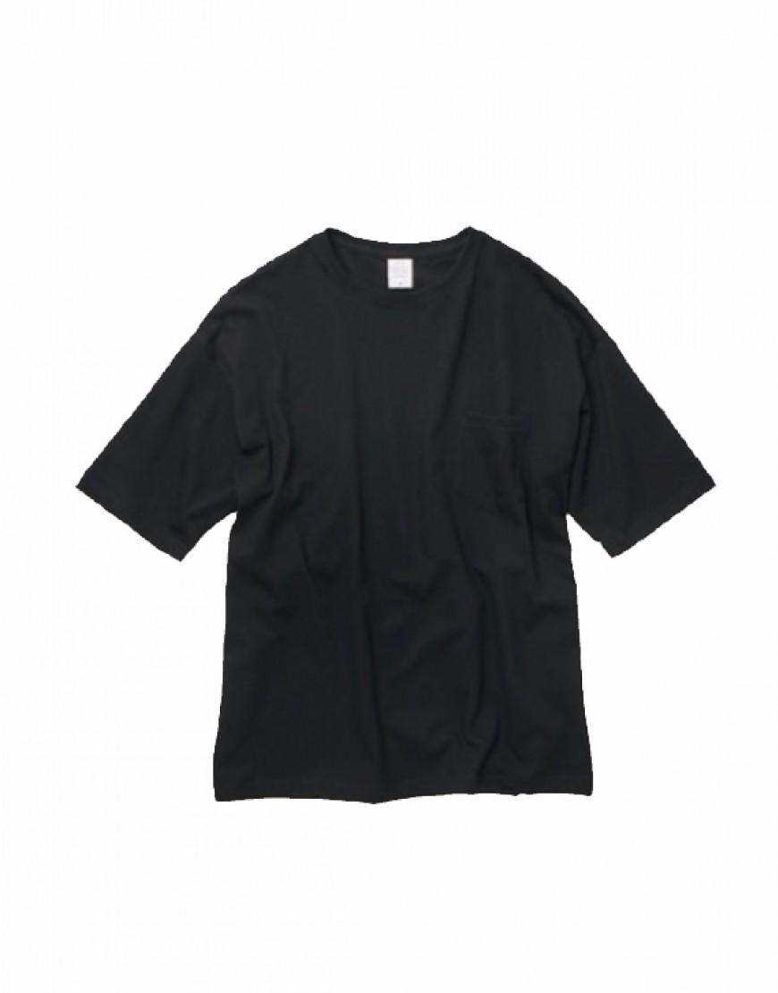 I 日本品牌 I 5.6OZ寬版口袋T恤 - 3色