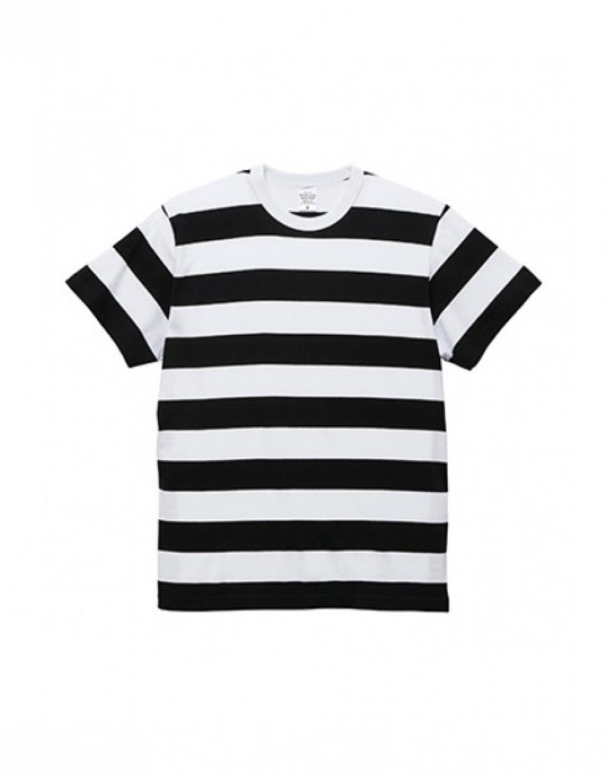 I 日本品牌 I 5.6oz橫條紋T恤